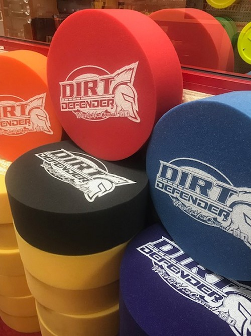 Dirt Defender Foam Mud Plugs