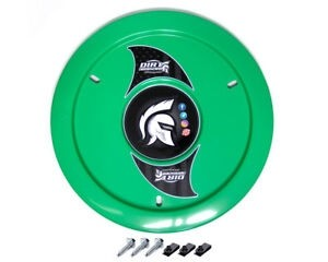GREEN WHEEL COVERS NO HARDWARE